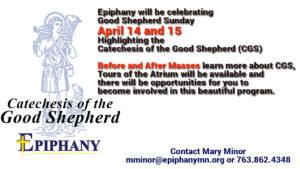 Celebrating Good Shepherd Sunday @ Epiphany Church